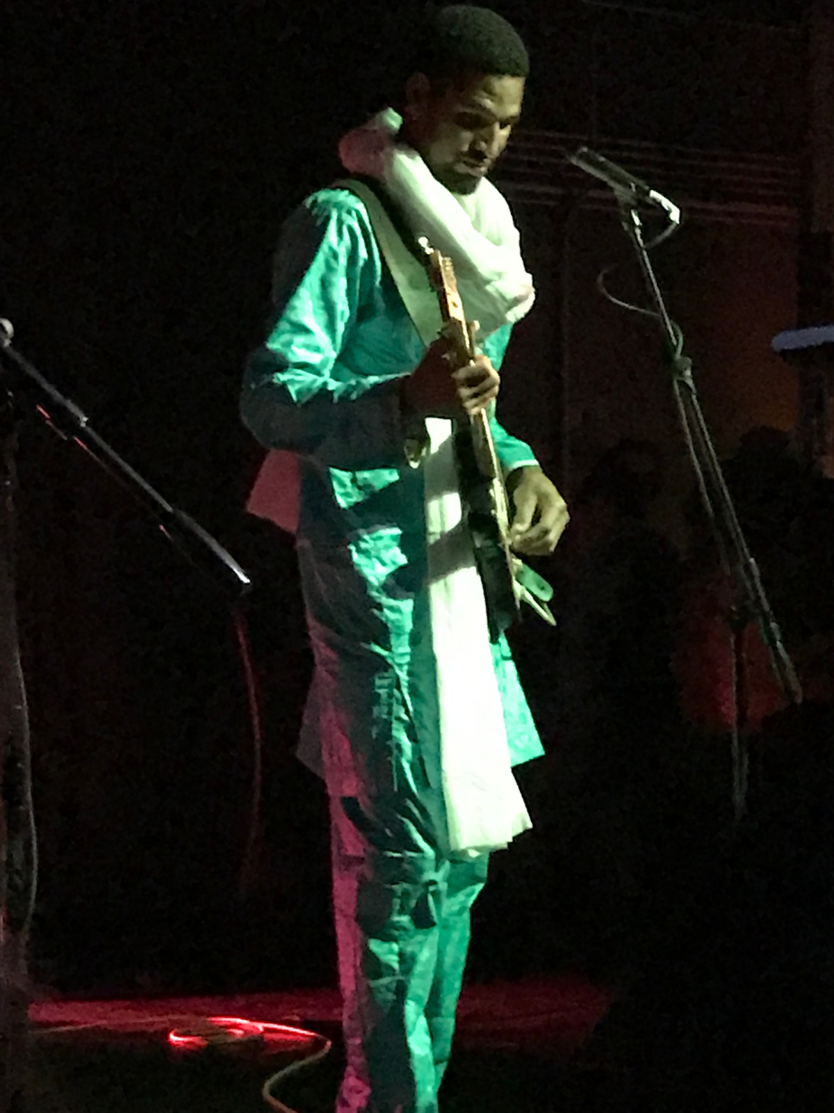Sahel Smiles: Tuareg Guitarist Mdou Moctar Sparks a Frenzy atZebulon.