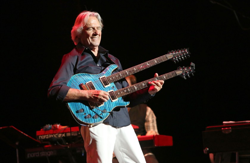 "John McLaughlin & Jimmy Herring final concert of ""The Meeting of the Spirits"" farewell U.S. tour"