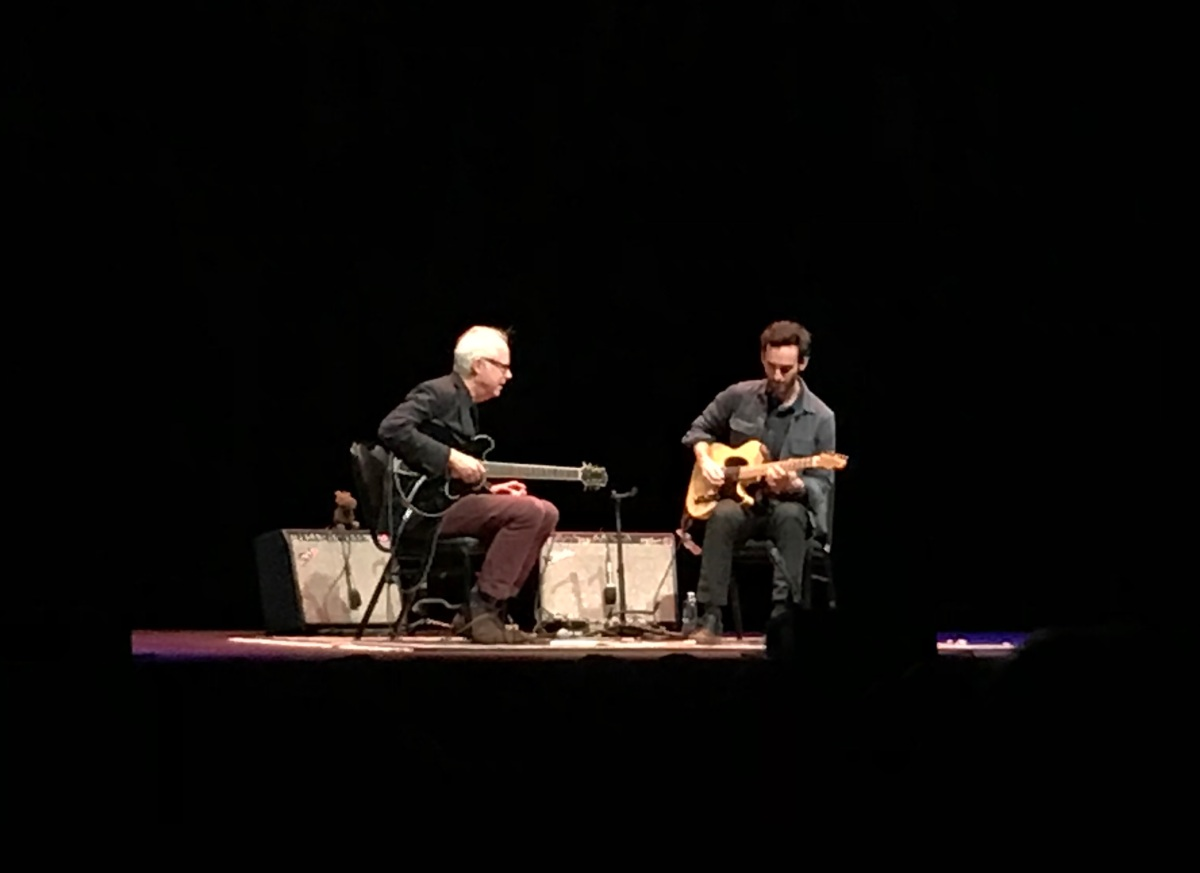 Bill Frisell and Julian Lage: Whatever this is…